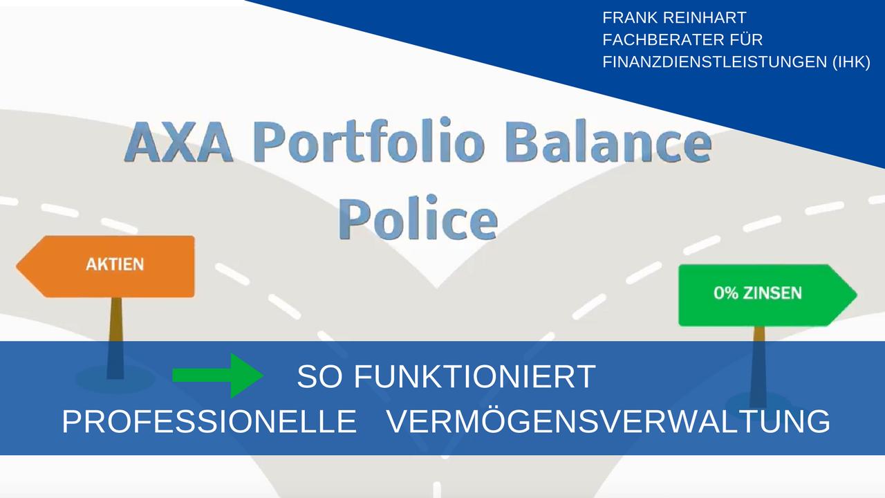 Portfolio Balance Police